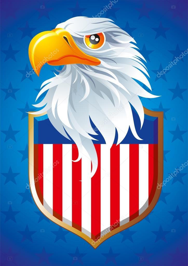 Symbol Of Usa Stock Vector Figura13 19147677