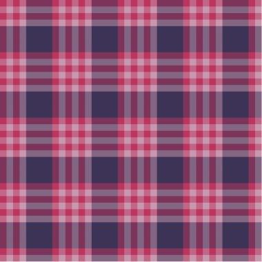 Red plaid pattern