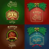 čtyři vinobraní vánoční přání