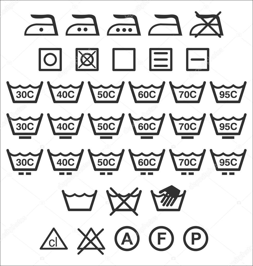 Waschmaschine Zeichen Stockvektor Totallyout 27099749