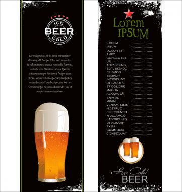 Beer list background