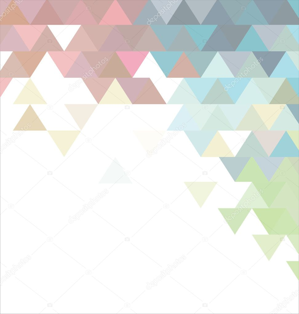 Abstract pastel colors background with triangle — Stock ...