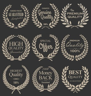 Premium quality laurel wreath