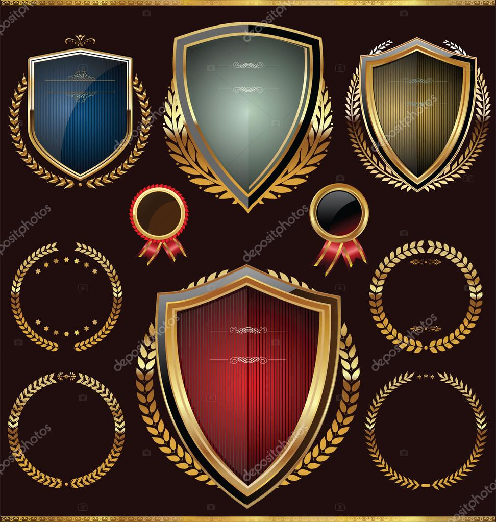 Golden shield collection