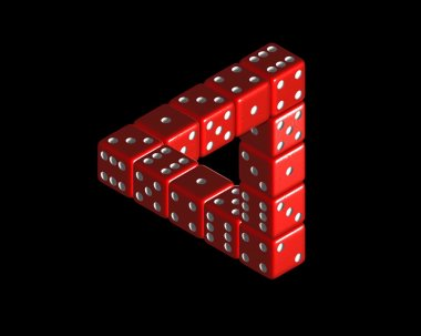 01 dice by Roger Penrose