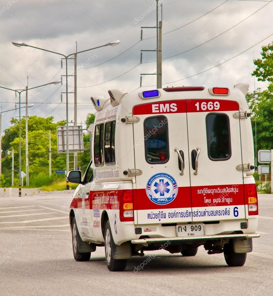 Rescuers car.