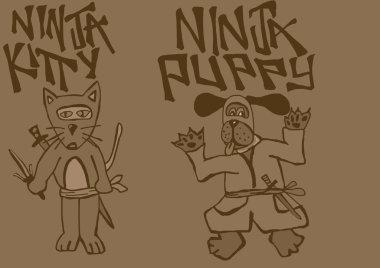 Ninja vintage pets