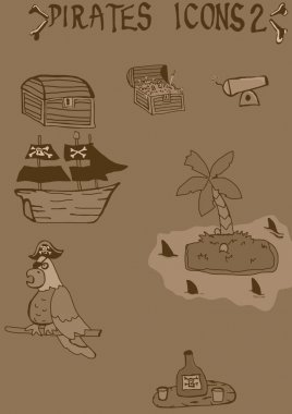 Pirates Vintage Icons 2