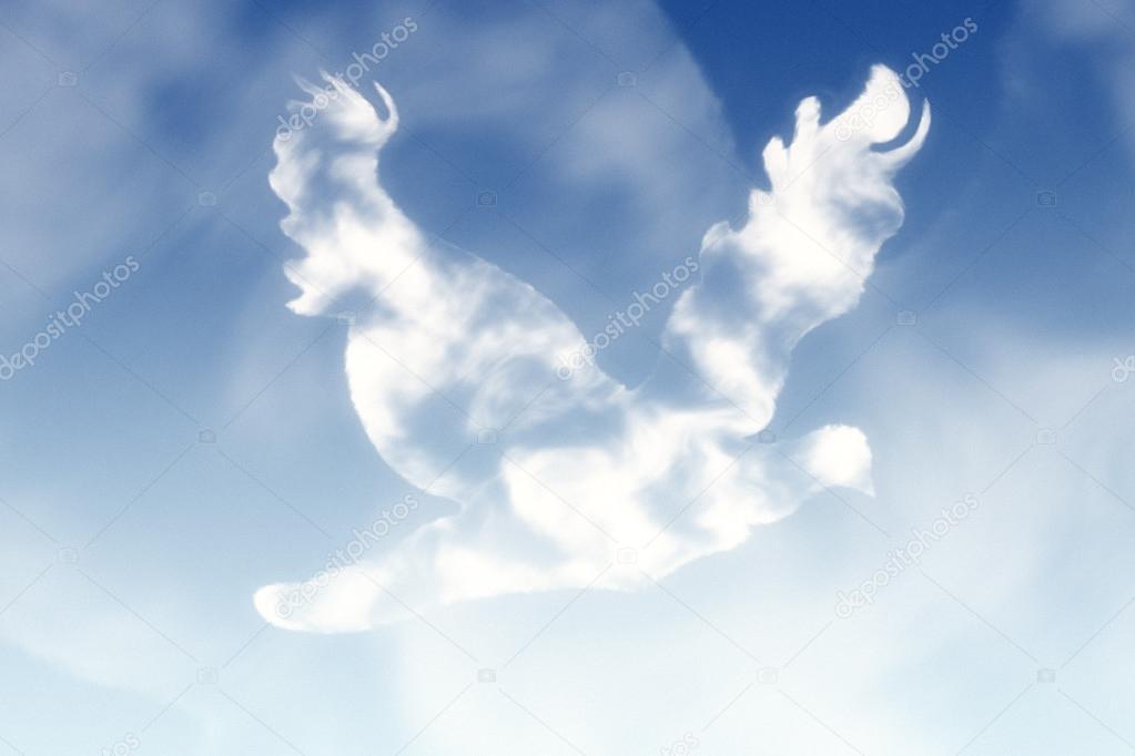 Bird in the Sky Cloud