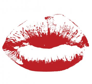 res kiss lips Vector