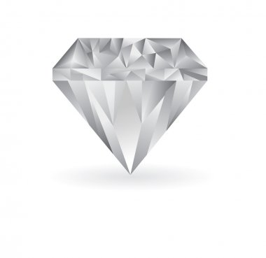Diamond illustration on a white background.