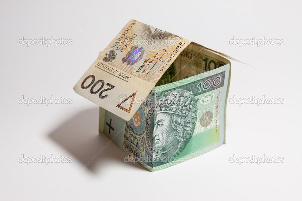 Il concetto di costruire una casa la valuta polacca for Aprire i piani casa artigiano concetto