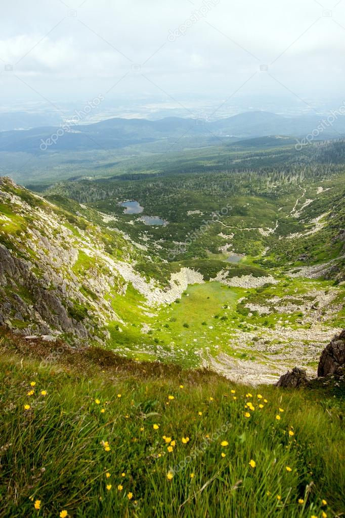 Mountains Karkonosze in Poland