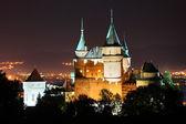 Fotografie zámek Bojnice, Slovensko v noci