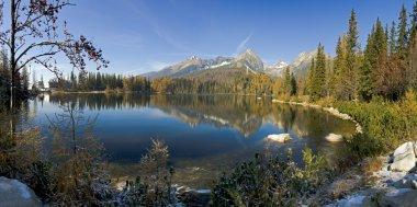 Strbske pleso - Beautiful lake in High Tatras - Slovakia - Europ
