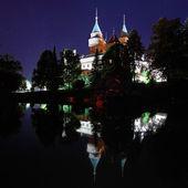 Zámek Bojnice, Slovensko v noci
