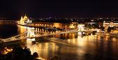 Fényképek Budapest - magyar Országgyűlés és a Lánchíd