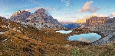 Nice mountain with lake - Italy Alps Dolomites - Tre Cime - Lago