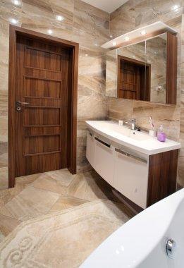 Bathroom in luxury home