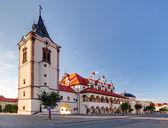 Fotografie stará radnice ve městě Levoča - Slovensko
