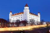 Bratislavský hrad z parlamentu