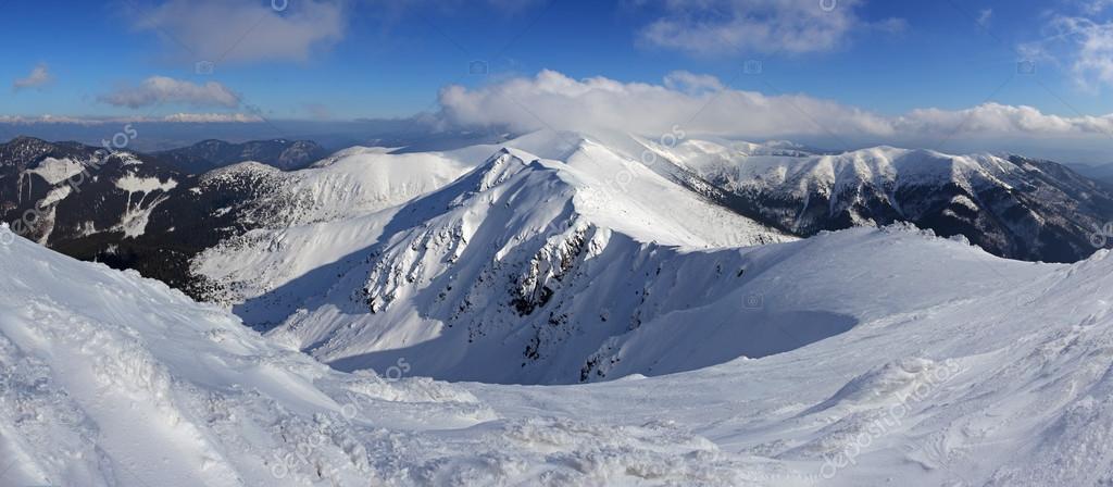 Winter Slovakia mountain