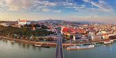Fotografie panorama Bratislava - Slovensko