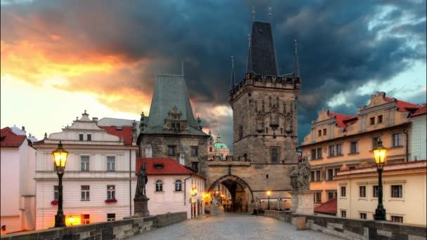 Praha - Karlův most, časová prodleva
