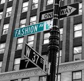 Fotografie módní avenue