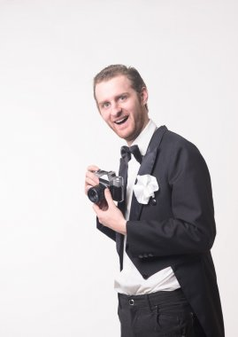 Photographer and Camera