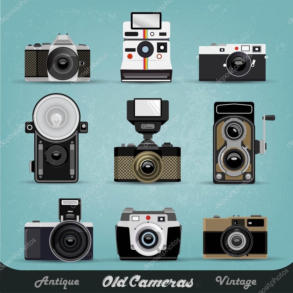 Vintage camera illustration #9