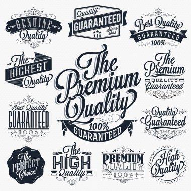 Vintage Premium Quality Stickers