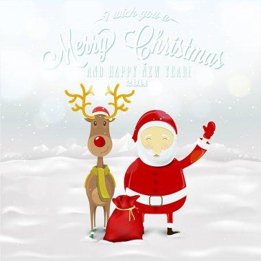 Funny Greeting Christmas Card