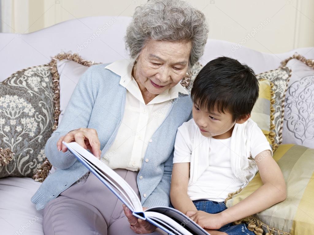 grandma and grandson stock photo imtmphoto 27301027
