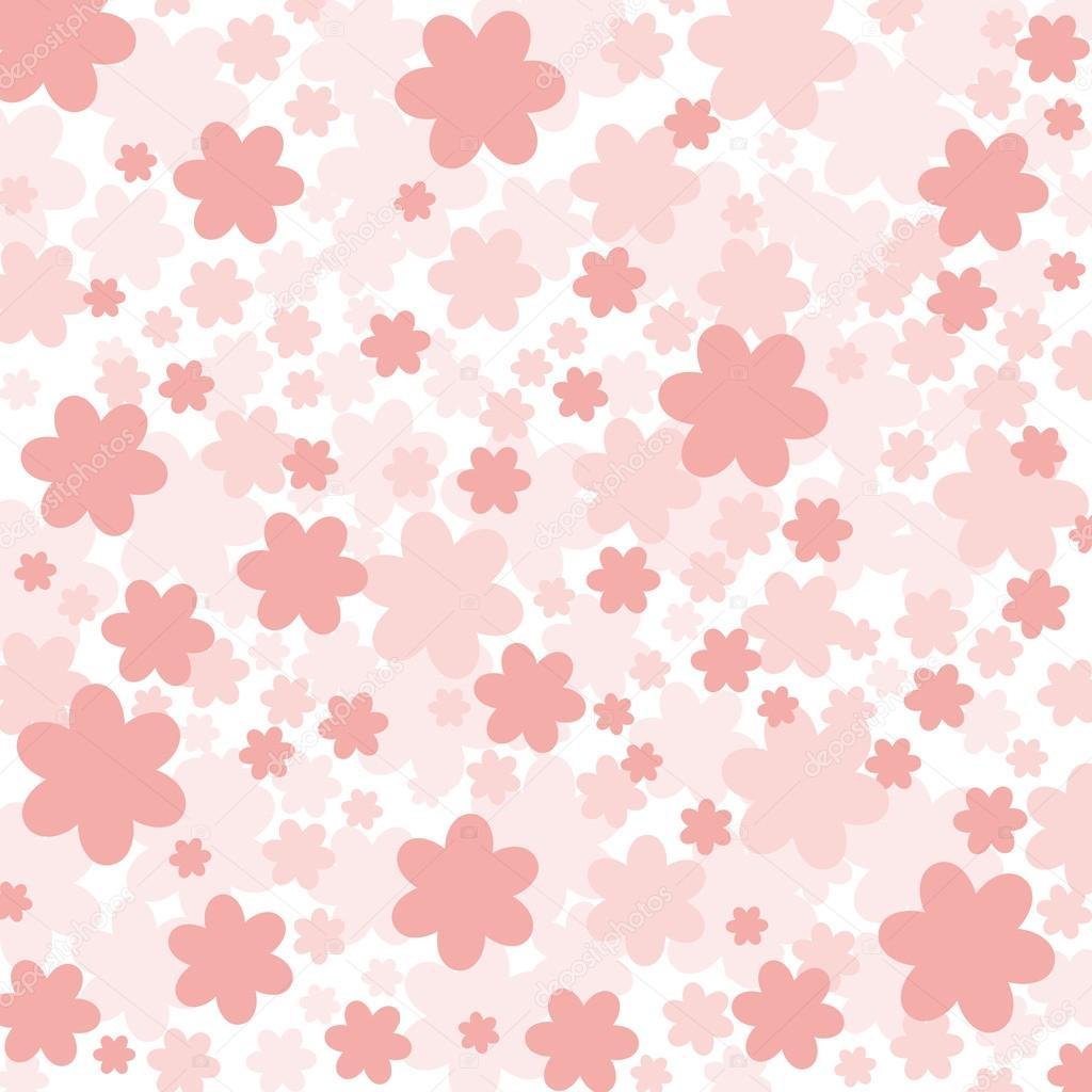 Розовые цветы фон