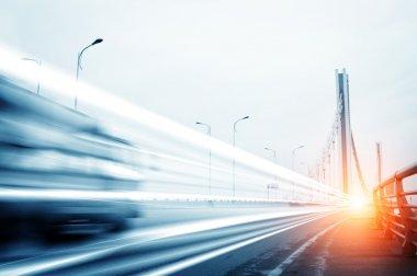 cars light trails