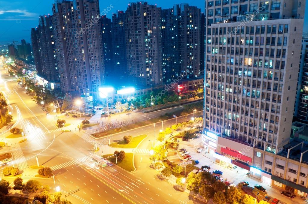 Фотообои Bird view at Wuhan China