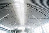 a repülőtér belseje