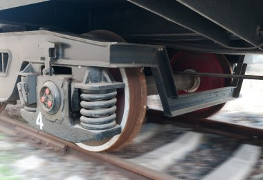 Wheels of the Train