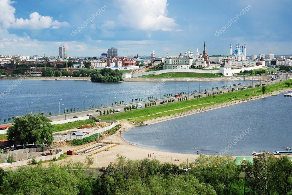 Panorama of the Kazan Kremlin