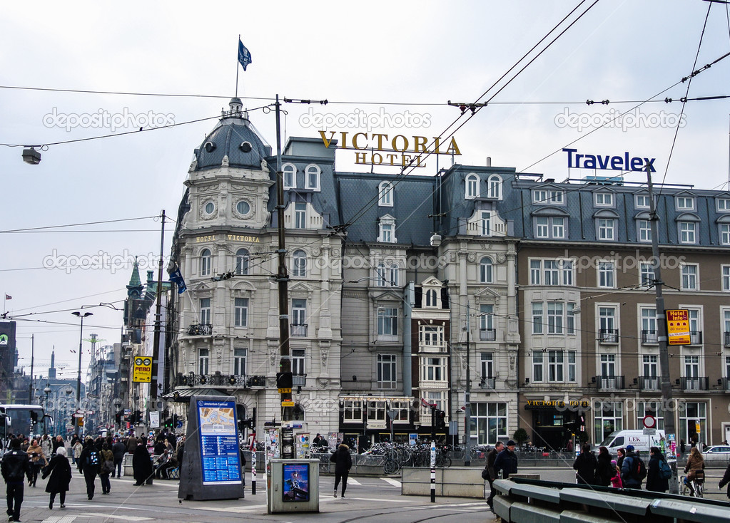 The Hotel Victoria In Amsterdam Holland Europe