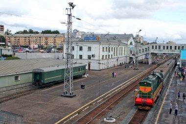 Trans-Siberian Railway, Kirov train station