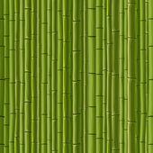 Fotografia sfondo senza giunte di bambù parete verde