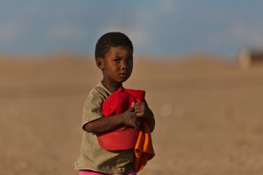 African child, portrait, Namibia