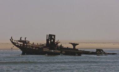 Ship wreck, Atlantic Ocean, Namibia