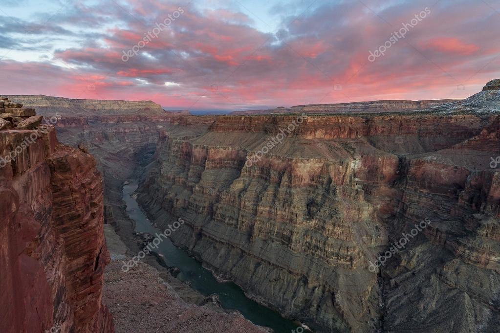 Aerial view of Grand Canyon National Park, Colorado, USA.