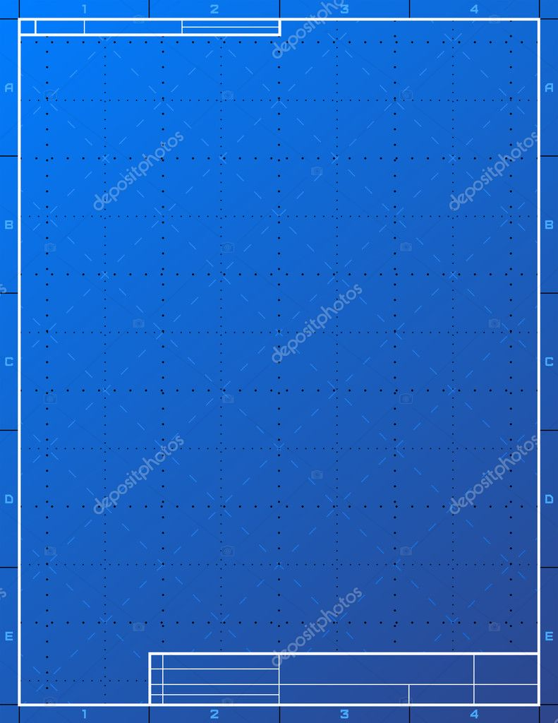 Exceptional Blank Blueprint Paper For Drafting U2014 Stock Vector