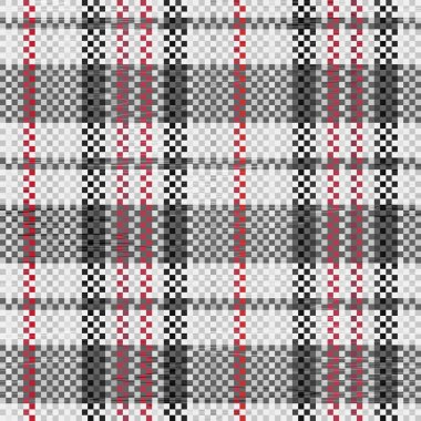 Polypropylene woven seamless pattern in black colors