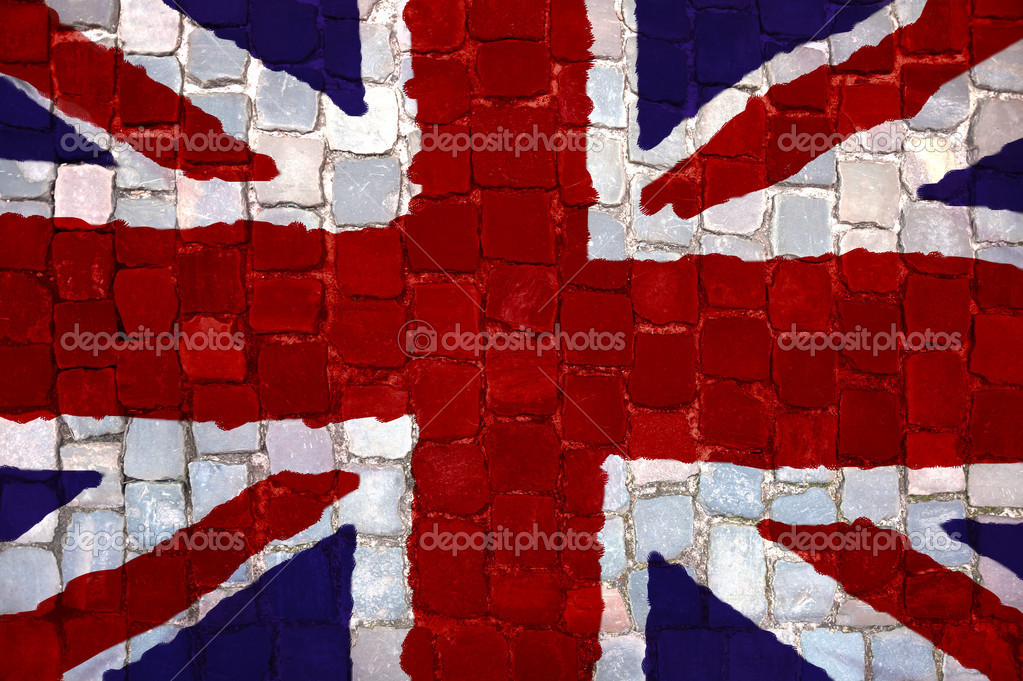 Imágenes Bandera De England Bandera De Inglaterra Pintado Foto