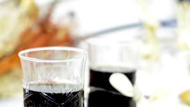 studený nápoj víno sklo pozadí